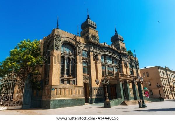 Azerbaijan, Baku  June  05, 2016. Azerbaijan Academic Opera and Ballet Theater