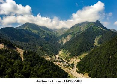 Azerbaijan nature, Gabala.