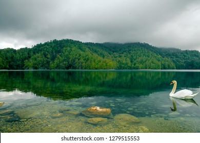 Azerbaijan nature lake