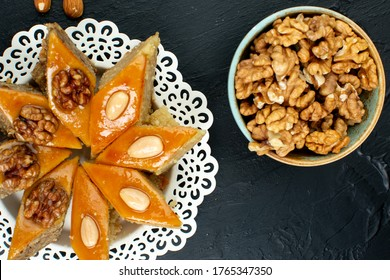 Azerbaijan traditional cuisine, fest sweets