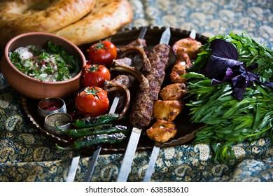 Azerbaijan traditional kebab