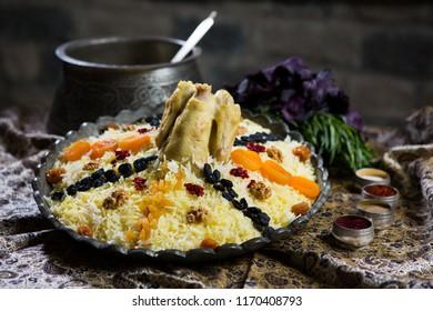 Azerbaijan traditional pilaw