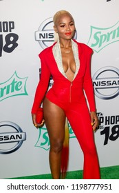 Azia - 2018 BET HIP-HOP AWARDS in Miami Florida USA on October 6th 2018 at The Fillmore Miami Beach - Jackie Gleason Theater