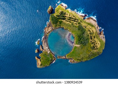 Azores from above with Drone