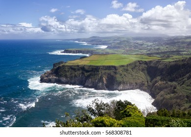 azores atlantic island ocean landscape