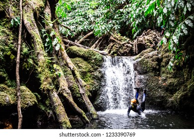 Azores Island Canyoning Sport