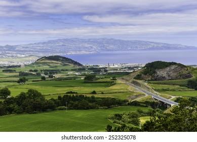 Azores landscape, Sao Miguel