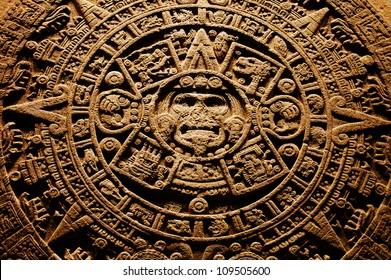 Aztec calendar - End of the World 12.12. 2012