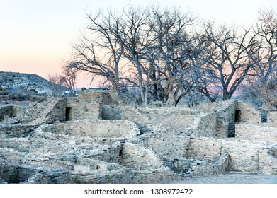 Aztec Ruins National monument, puebloan structures of XI-XIII centuries, New Mexico, USA