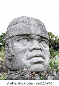 Aztec Stone Face