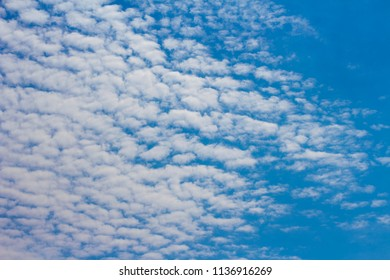 azure summer sky with clouds