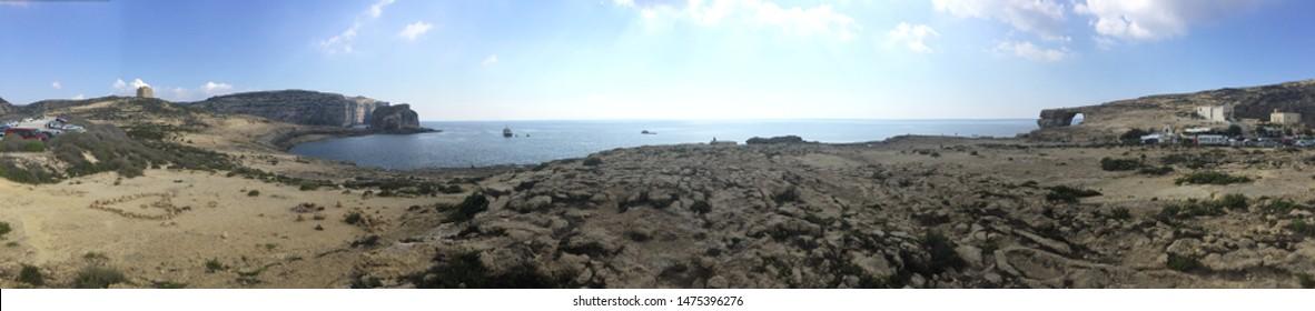Azure Window Dwejra Gozo Landscape