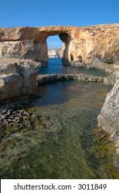 azure window, gozo island