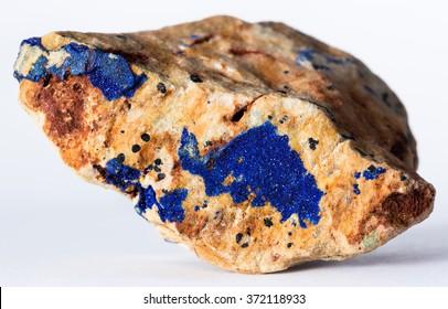 Azurite mineral