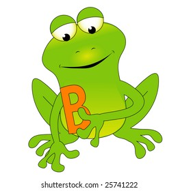 B frog.