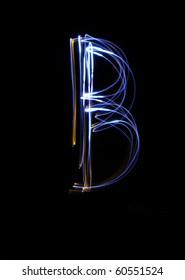 B - made by light