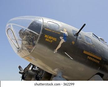"""The B-17 """"Memphis Belle"""" copy."""