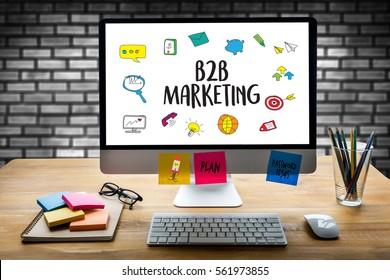 B2B Marketing  Business To Business Marketing Company , businessman and businesswoman