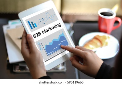 B2B Marketing Company , businessman and businesswoman Marketing Business To Business