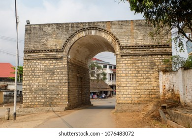Ba Daeng Gate is the last remaining gate to Kyaing Tong city, Myanmar