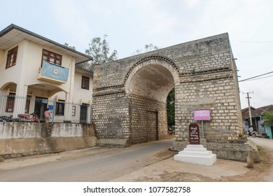 Ba Daeng Gate (translation of Burmese script) is the last remaining gate to Kyaing Tong city, Myanmar