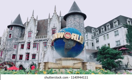Ba na hills - Danang - Vietnam:: 07/11/2018 :: Sun World at Ba na Hills.
