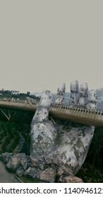 Ba na hills - Danang - Vietnam :: 07/11/2018 :: one hand of Golden Bridge.