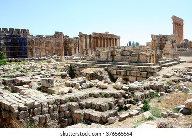 Baalbek is a town in Beqaa Valley of Lebanon. Known as Heliopolis during period of Roman rule, it was one of largest sanctuaries in empire and contains some of the best preserved ruins in Lebanon