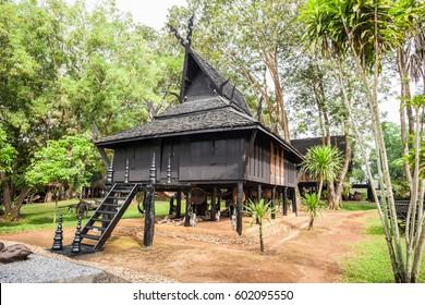 Baan Dam Museum (Black Temple) in Chiang Rai City, Thailand