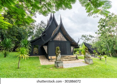 BAANDAM the thai style traditional wooden house in Chiang Rai, Northern Thailand