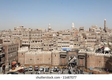 Bab al Yemen, Sana'a - the main gate to the old city