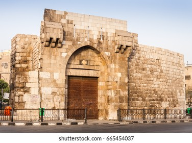 "Bab Tuma ""Gate of Thomas""  is a borough of the Old City of Damascus in Syria, one of the seven gates inside the historical walls of the city, and a geographic landmark of Early Christianity."