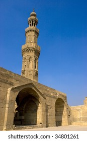 Bab Zuweila is a medieval gate in Cairo, which is still standing in modern times. It considered the last remaining southern gate from the walls of Fa