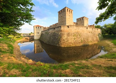 Baba Vida is a medieval fortress in Vidin in northwestern Bulgaria and the town's primary landmark. Baba Vida is the only one entirely preserved medieval castle in the country.