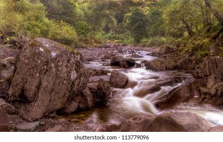 Babbling Brook, Callander Scottish Highlands