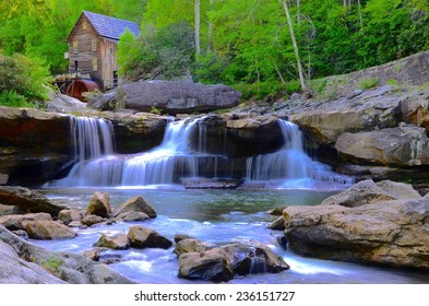 Babcock State National Park in West Virginia, USA