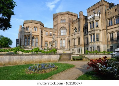 Babelsberg Palace in Potsdam, Germany.