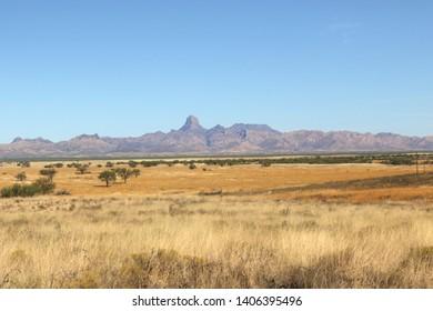 Baboquivari Mountains, south of Tucson Arizona
