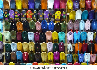 Babouche Wall - Moroccan Slippers