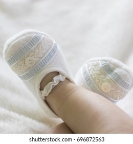 baby baptism shoes