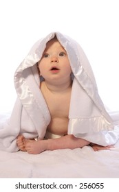 Baby in Blanket Three