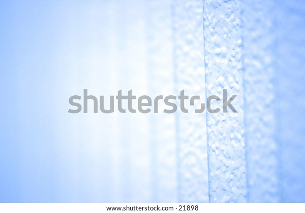 Baby blue background.