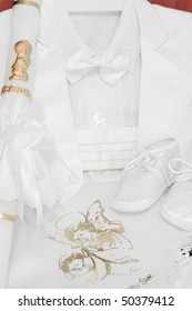 Baby boy accessories for Christening
