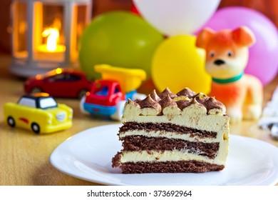 Baby Boy Birthday Party Focus On Stock Photo Edit Now 374563930