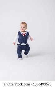 baby boy kid play in studio