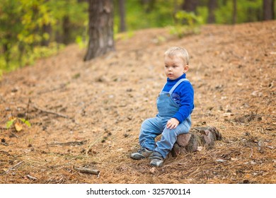 baby boy outdoors