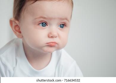 Imágenes Fotos De Stock Y Vectores Sobre Baby Sad