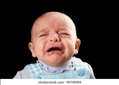 baby crying two month