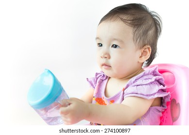 Baby drink water