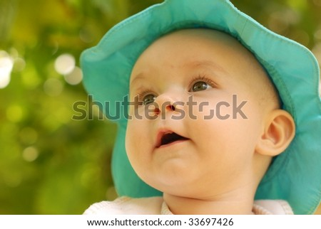 2e6e96b37 Baby Girl Wearing Pink Jumper Outfit Stock Photo (Edit Now) 33697426 ...
